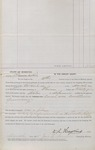 Bill of Costs (Bigamy Case) MO (1874) 2