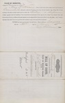 Bill of Costs (Bigamy Case) MO (1874) 3