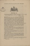 Act of Settlement of Titles in Parish of Christ 1879 1