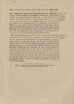Act of Settlement of Titles in Parish of Christ 1879 7