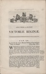 Act of Parliament Under Queen Victoria (1838) 1