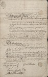 York Bond (1767) 1