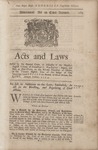 Acts and Laws (1754) 1