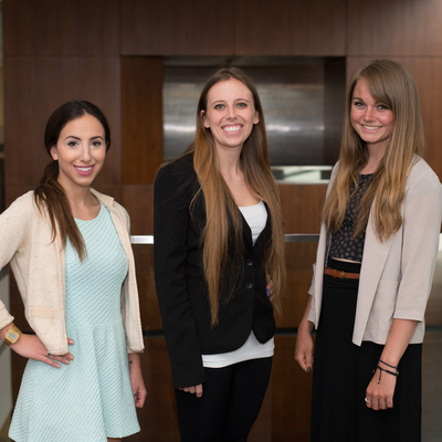 2014 ULRA Winners: Sarah M. Beaumont, Paige Vaughn, Allison Croley