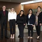 2016 ULRA Winners: Dominic Budetti, Mary Densmore, Iris Astudillo, Julia Yi, Amanda Kretsch