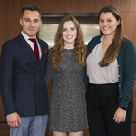 2018 ULRA Winners: Nikita Vyugov, Alanna Quinn, Fiona Shorrock