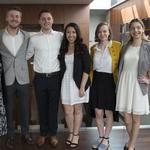 2019 ULRA Winners: Zachary Bishkin, Daniel Siciliano, Jeannette Martinez, Emily Rawson, Jessica Griggs