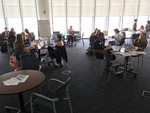 Students and faculty at the 2017 Wikipedia Edit-a-thon